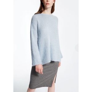 MaxMara Weekend Baby Blue Mohair Sweater